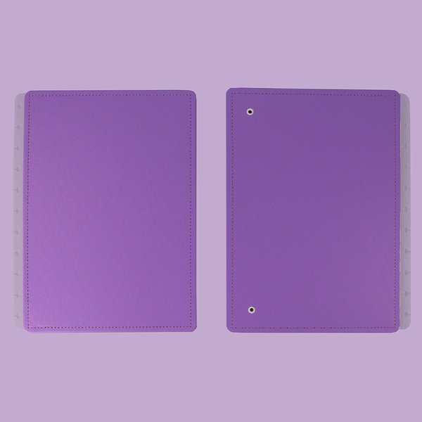 Capa e contracapa para Caderno Inteligente All Purple
